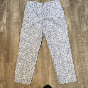 Brooks Brothers 346 stretch cropped pants. Size 8.